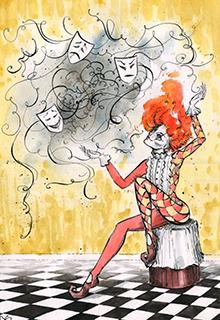 """Книга """"В театре форс-мажор! или """"Новый сказ о Колобке"""""""" читать онлайн"""