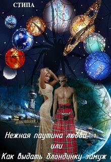 """Книга """"Нежная паутина любви или Как выдать блондинку замуж !"""" читать онлайн"""