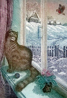 "Книга ""Кошка на окошке"" читать онлайн"