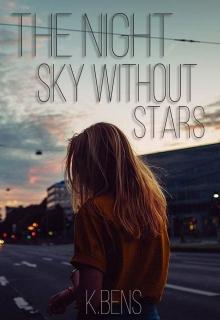 "Обложка книги ""The night sky without stars"""