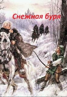 """Обложка книги """"Снежная буря"""""""