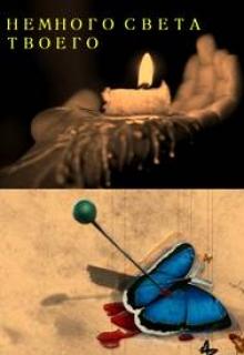 """Обложка книги """"Немного света твоего"""""""