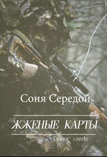 """Обложка книги """"Жженые карты"""""""