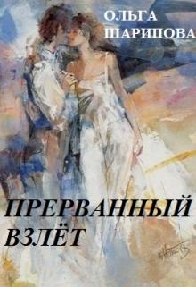 """Обложка книги """"Прерванный взлёт"""""""