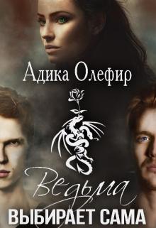 """Обложка книги """"Ведьма выбирает сама"""""""