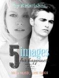 """Обложка книги """"5 снимков на счастье """""""