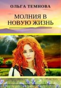 """Обложка книги """"Молния в новую жизнь"""""""