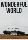 "Обложка книги ""Wonderful world"""