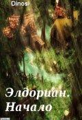 """Обложка книги """"Элдориан. Начало"""""""