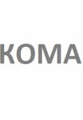 "Обложка книги ""Кома"""