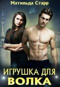 """Обложка книги """"Игрушка для волка"""""""