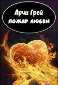 """Обложка книги """"Пожар Любви"""""""