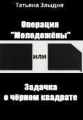 """Обложка книги """"Операция """"Молодожёны"""" или Задачка о чёрном квадрате"""""""