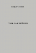 "Обложка книги ""Ночь на кладбище"""