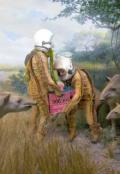"""Cubierta del libro """"Utopía Lunar"""""""