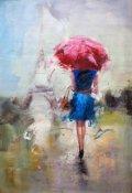 """Обложка книги """"Незнакомец под дождём"""""""