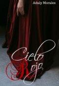 """Cubierta del libro """"Cielo Rojo"""""""