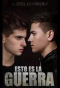"""Cubierta del libro """"Esto es la Guerra"""""""
