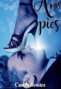 """Cubierta del libro """"A mis Pies"""""""