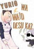 """Cubierta del libro """"Yurio Wa Maid Desu Ka?"""""""